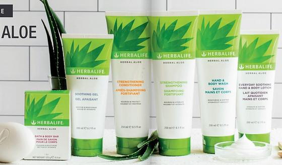 Herbalite skin products