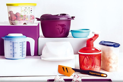 I want to sell Tupperware