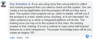 Testimonial about Lead Conversion Squared