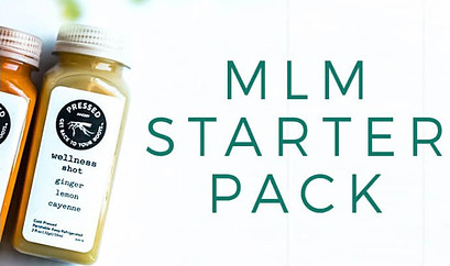 A compensation plan for a MLM requires you to buy a starter kit