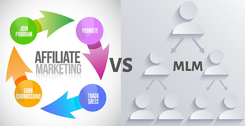 What is MLM business opportunity vs affiliate marketing