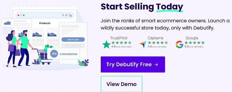 What is Debutify best Shopify theme for conversions