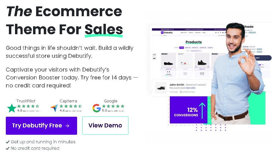 What is Debutify, the best Shopify theme for conversions