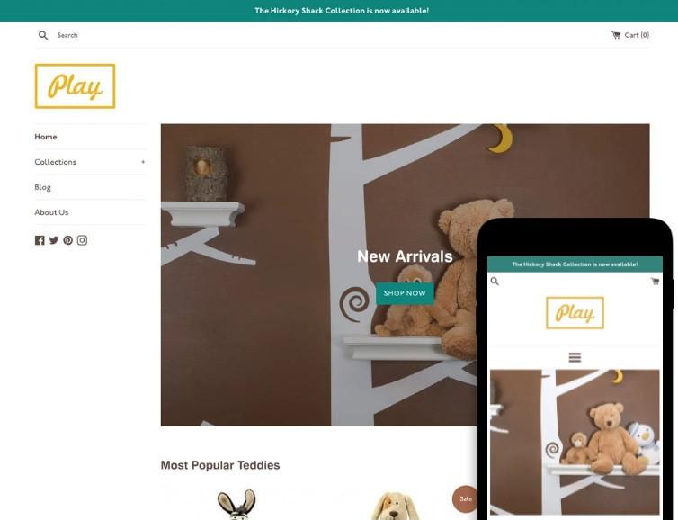 Free Shopify theme Simple