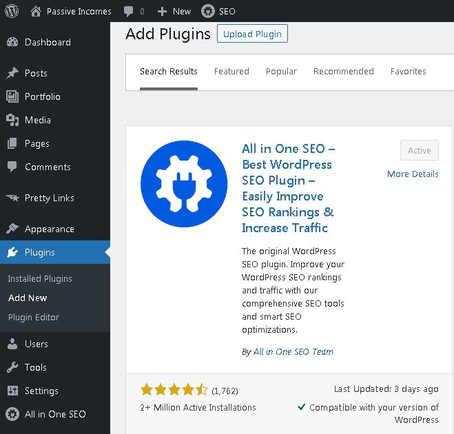 Set up a blog page in WordPress with many free plugins