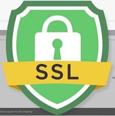 SSL certification for a secure website